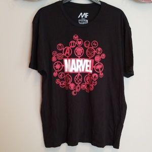Marvel black tshirt